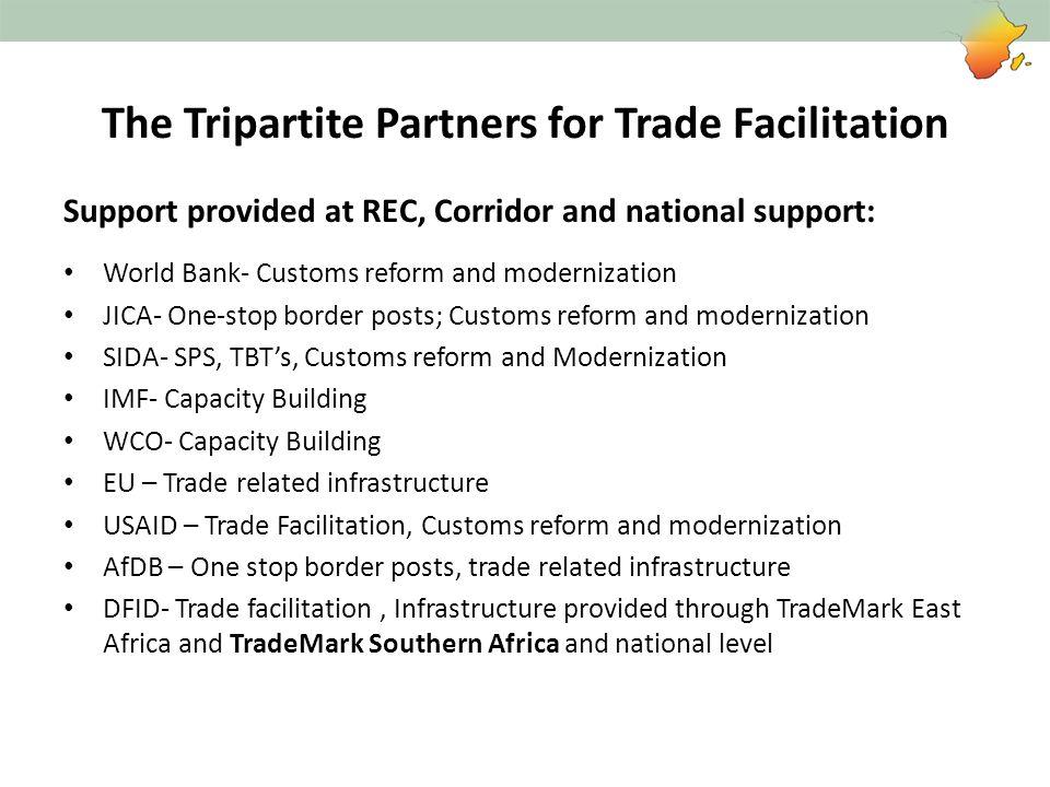 The Tripartite Partners for Trade Facilitation