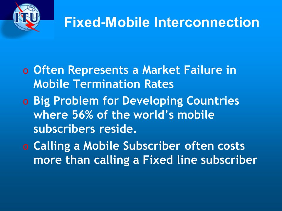 Fixed-Mobile Interconnection
