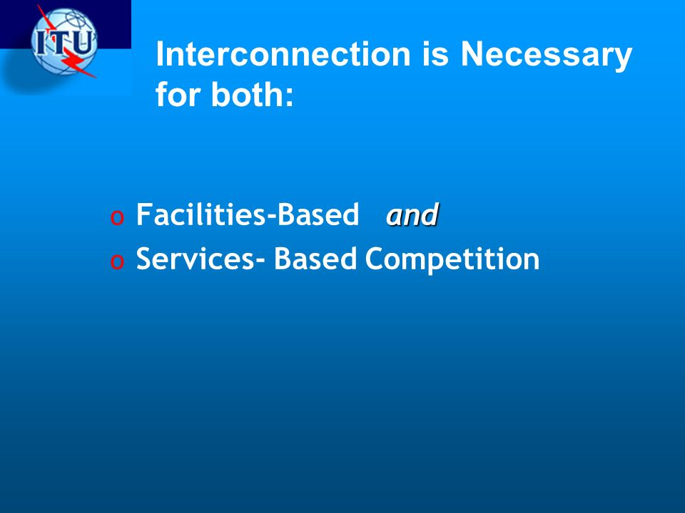 Interconnection is Necessary for both: