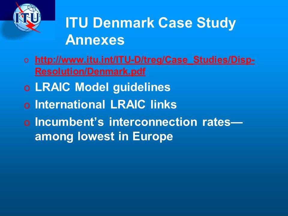 ITU Denmark Case Study Annexes