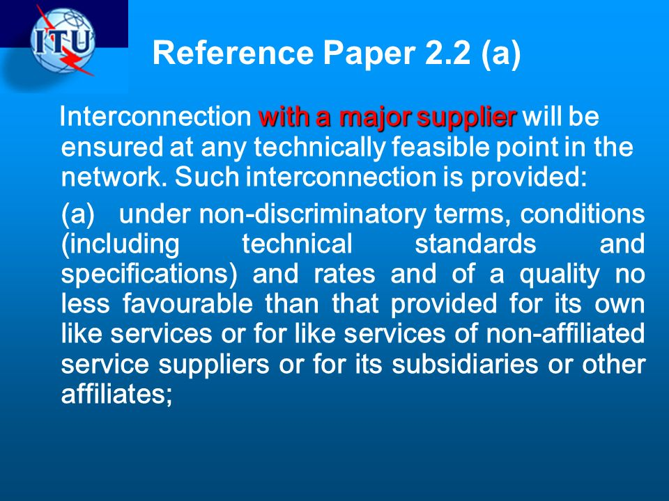 Reference Paper 2.2 (a)