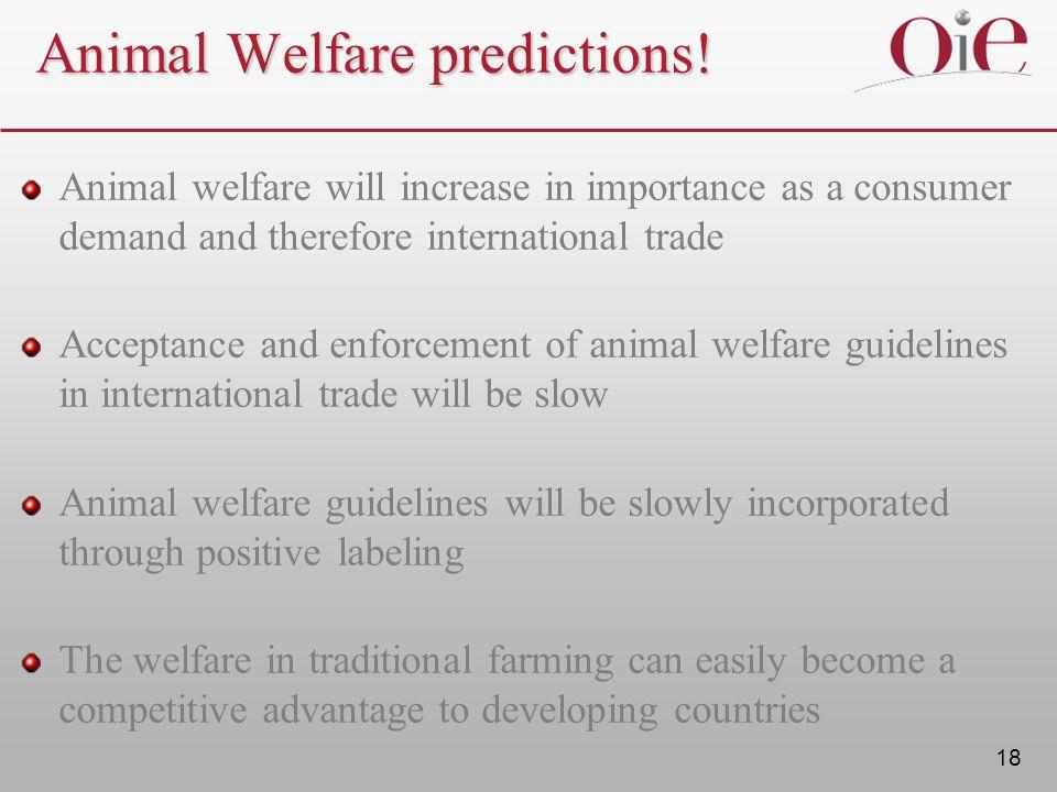 Animal Welfare predictions!