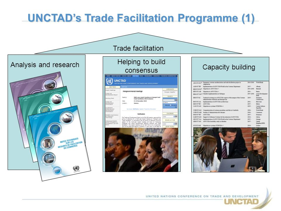UNCTAD's Trade Facilitation Programme (1)