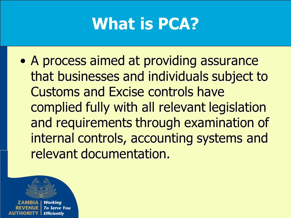 What is PCA