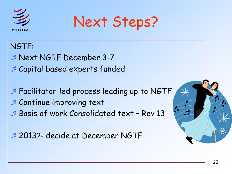 Next Steps NGTF: Next NGTF December 3-7 Capital based experts funded