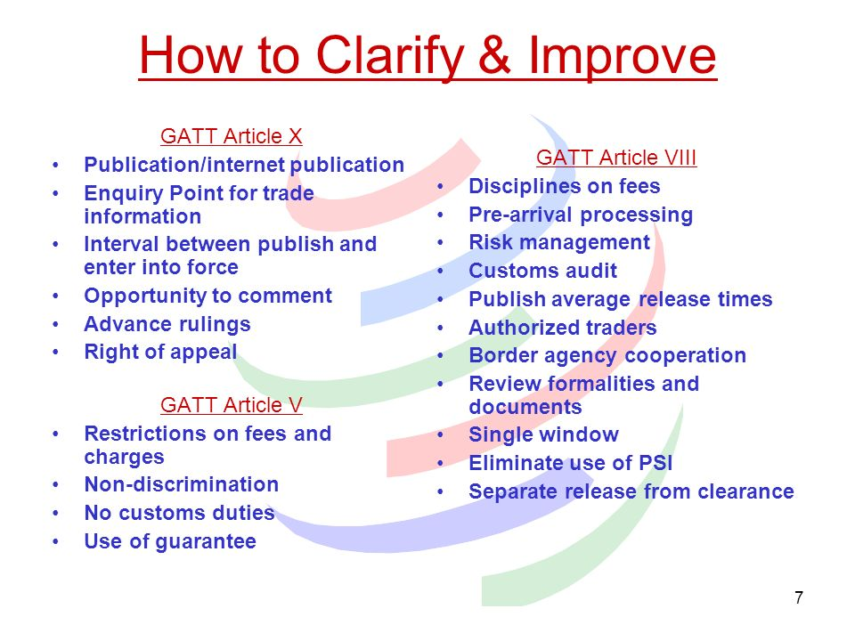 How to Clarify & Improve