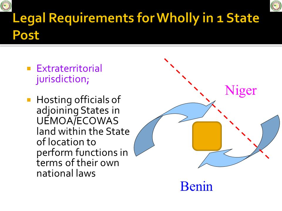 Legal Requirements for Wholly in 1 State Post