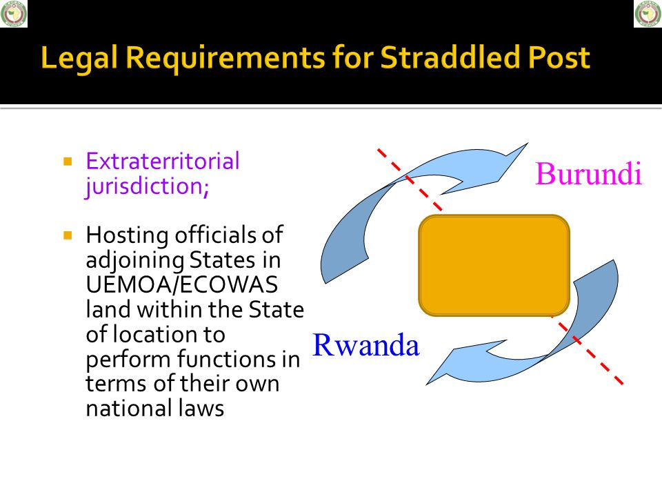 Legal Requirements for Straddled Post