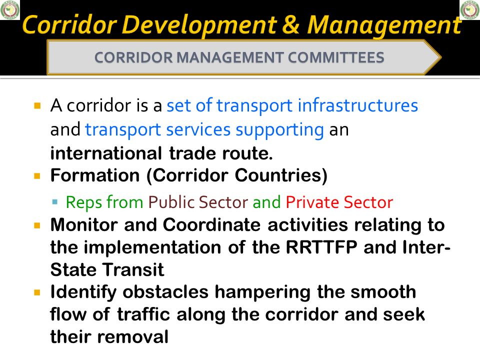 Corridor Development & Management