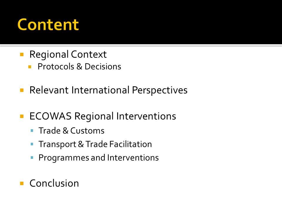 Content Regional Context Relevant International Perspectives