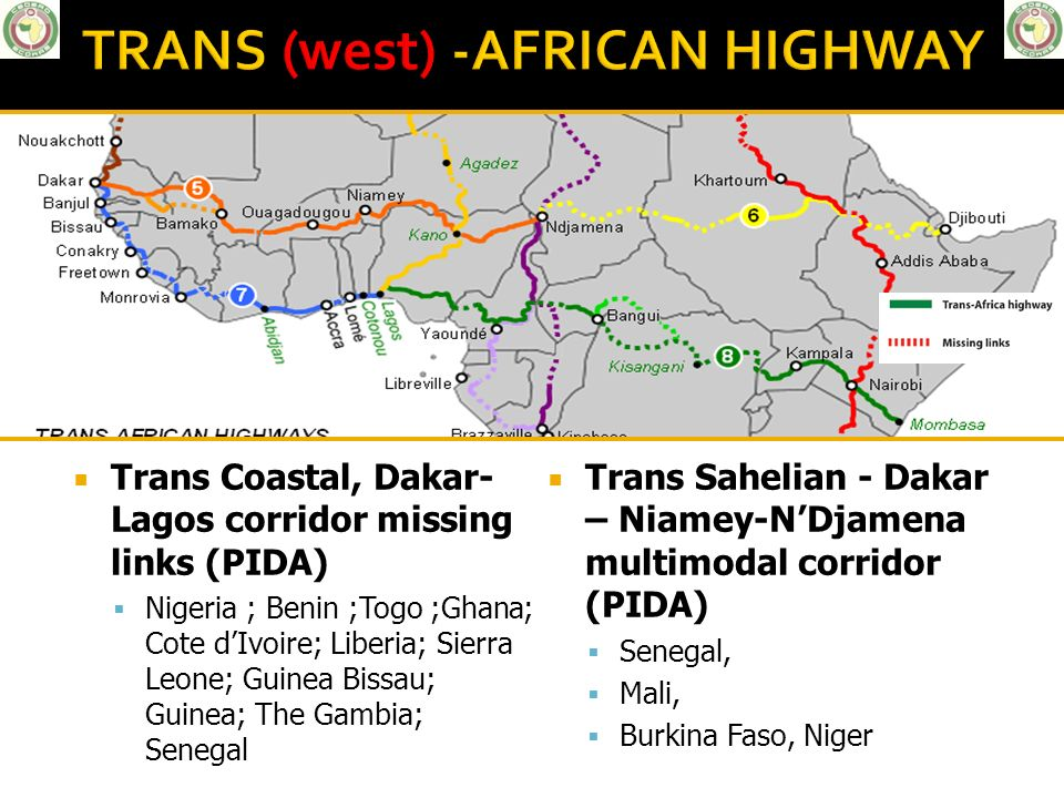 TRANS (west) -AFRICAN HIGHWAY