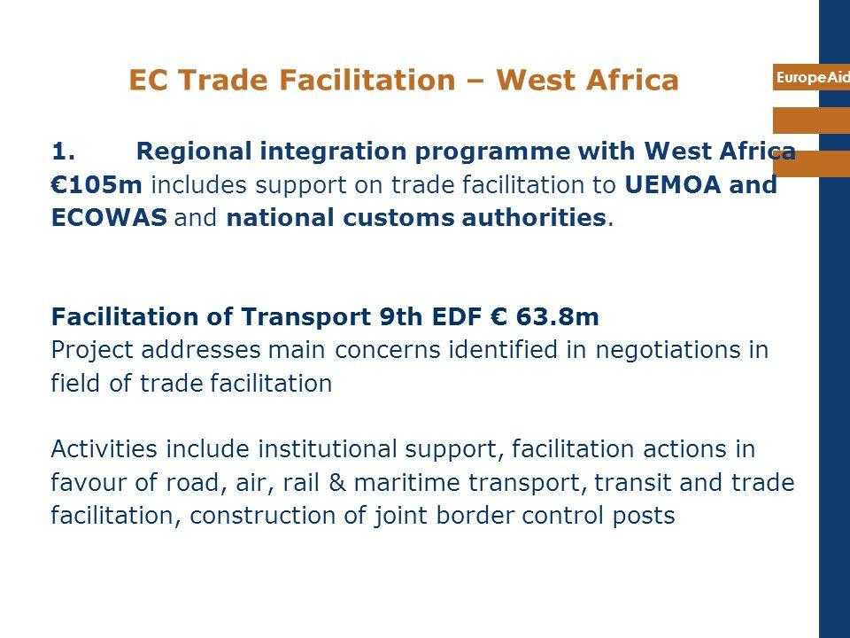 EC Trade Facilitation – West Africa