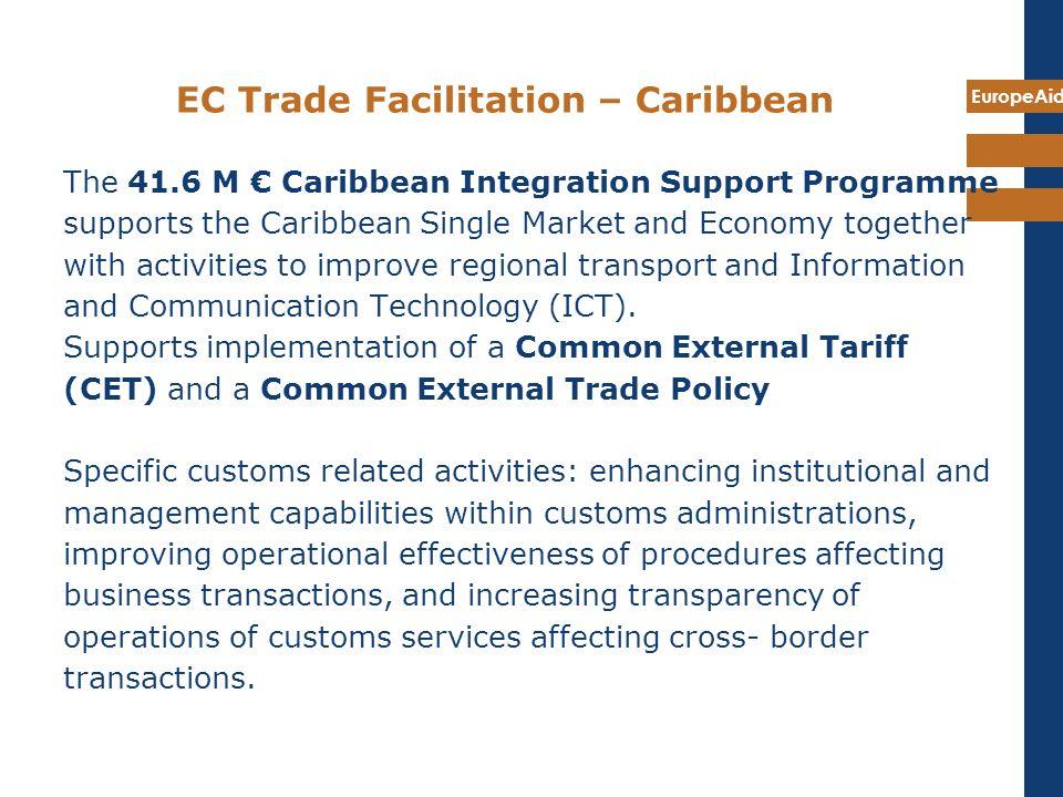 EC Trade Facilitation – Caribbean