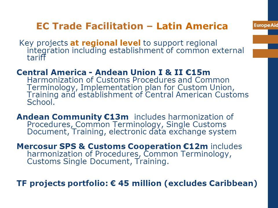 EC Trade Facilitation – Latin America