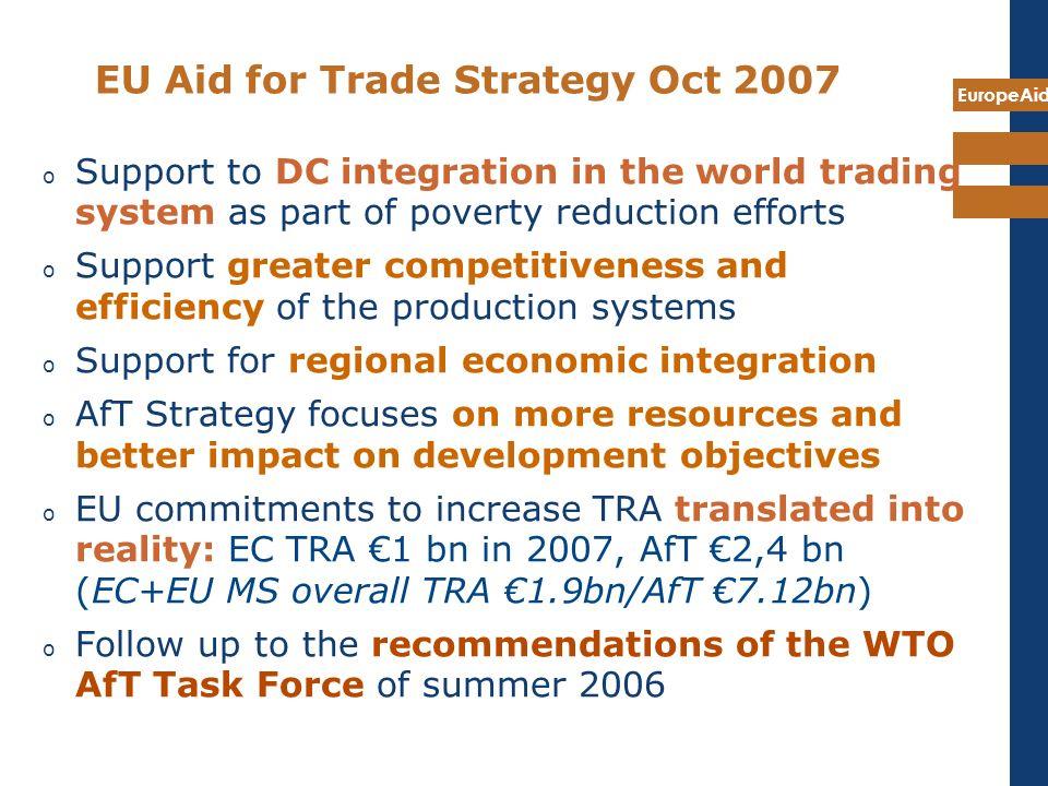 EU Aid for Trade Strategy Oct 2007