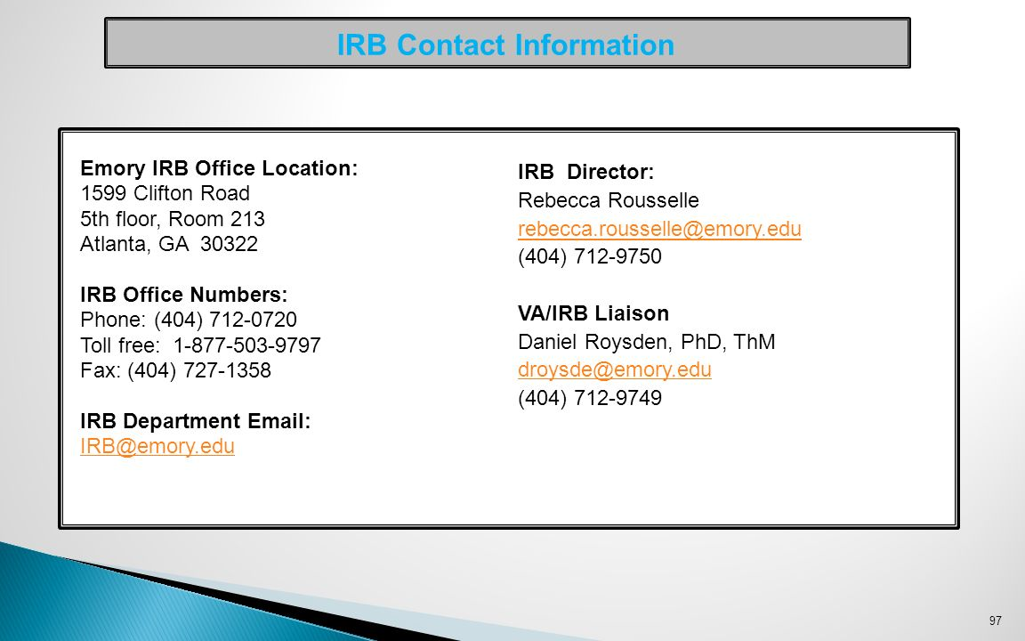 Irb minutes template 28 images sample of sales promotion letter welcome to the atlanta va medical center ppt download irb contact information 7310387 irb minutes template 28 images irb minutes template 28 images pronofoot35fo Images
