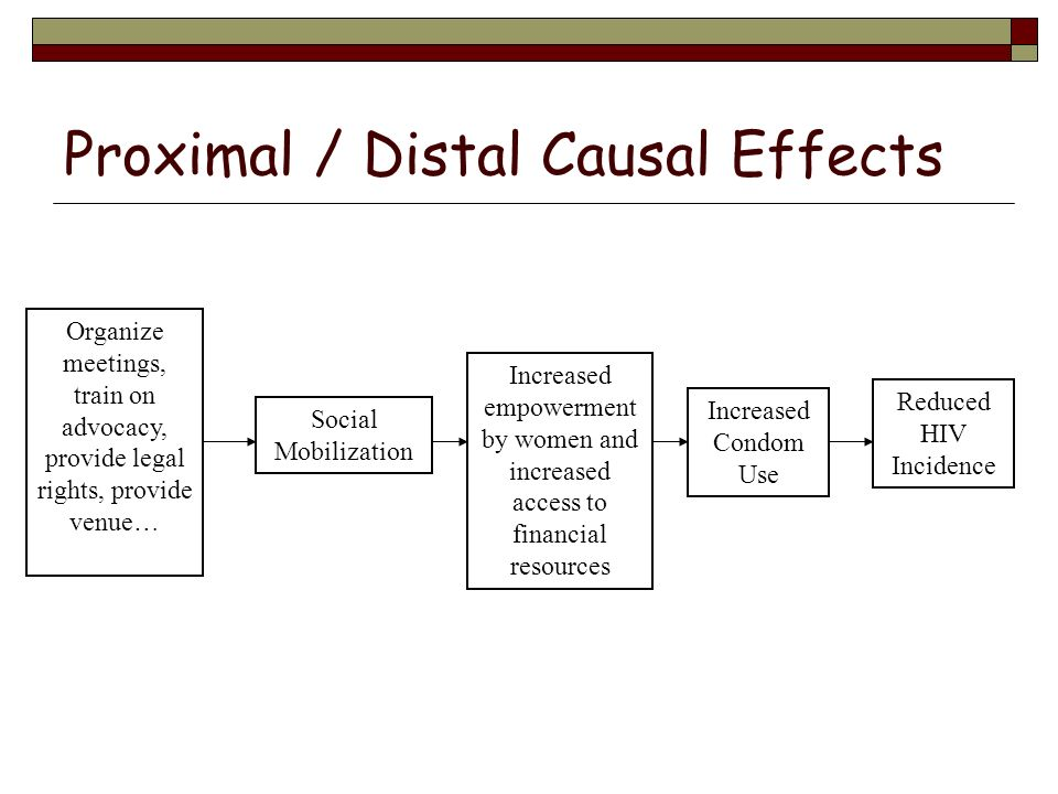 Proximal / Distal Causal Effects