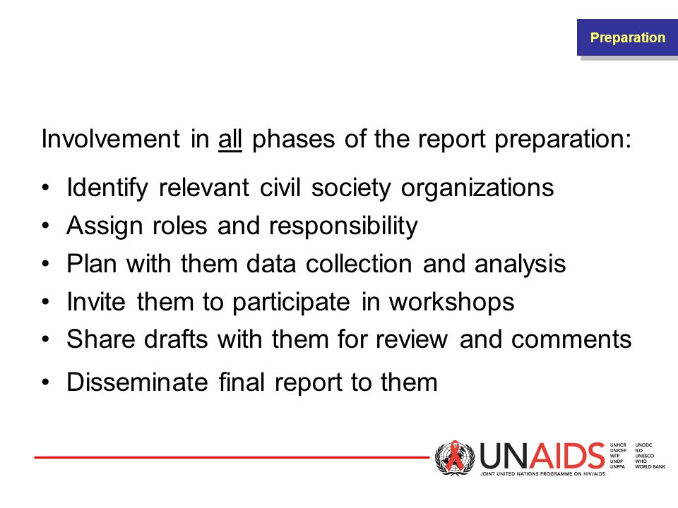 HOW AND WHEN TO INCLUDE CIVIL SOCIETY