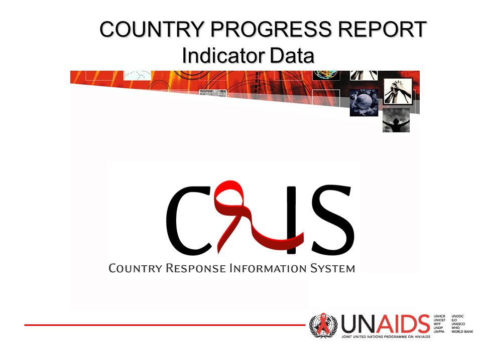COUNTRY PROGRESS REPORT Indicator Data