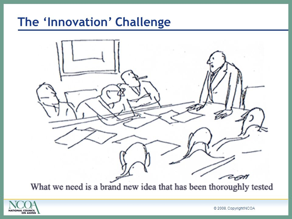 The 'Innovation' Challenge