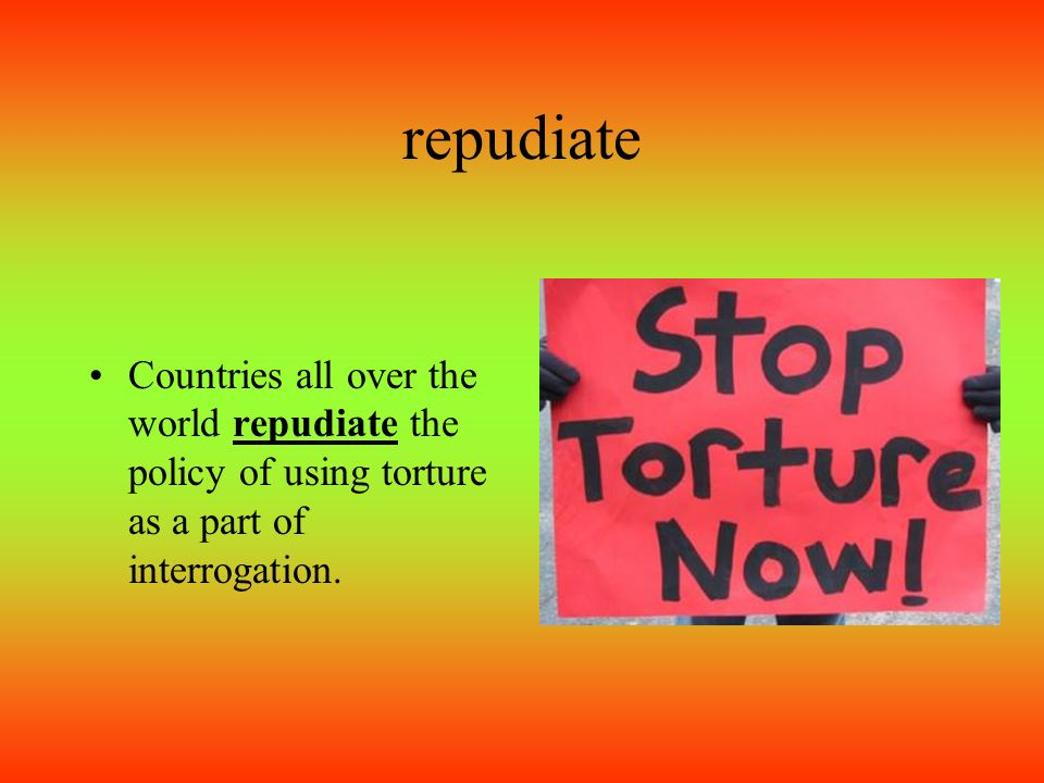 The gallery for --> Repudiate Meaning  Repudiate Meaning
