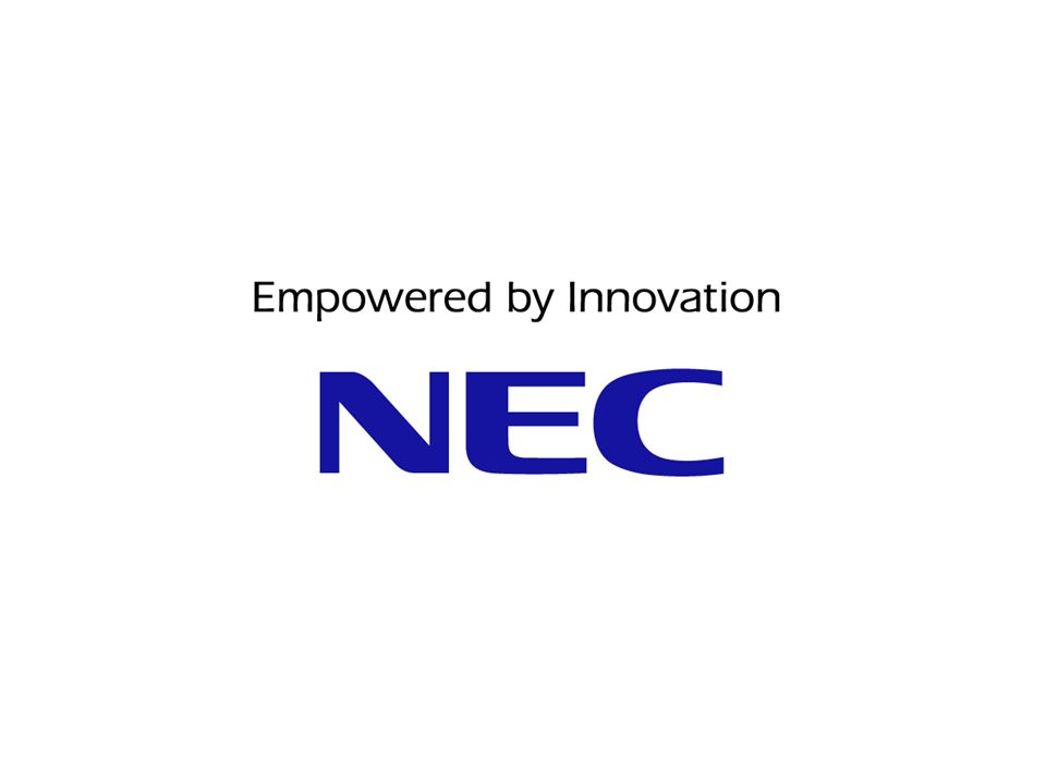 NEC s brand statement, Empowered by Innovation, expresses our commitment to empowering people and society through continuous innovation in every area of our businesses, fueled by our infinite passion for innovation and our customer-focused spirit of collaboration.