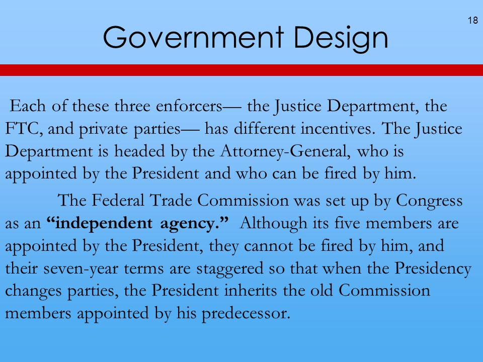Government Design