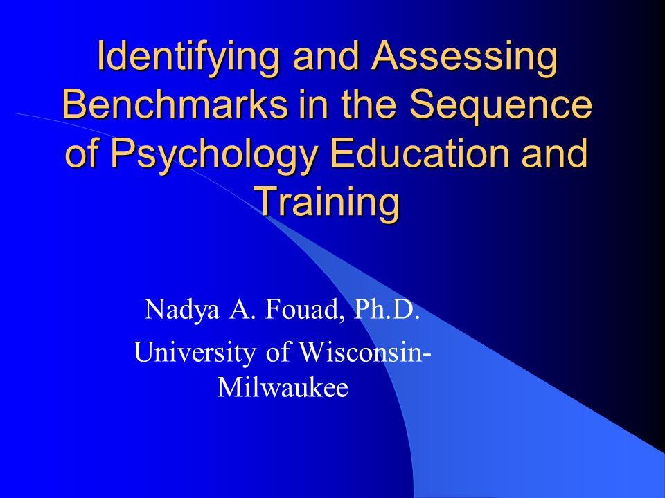 Nadya A. Fouad, Ph.D. University of Wisconsin-Milwaukee