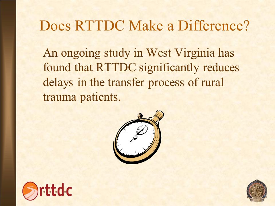 Does RTTDC Make a Difference