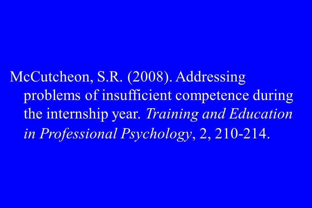 McCutcheon, S.R. (2008).