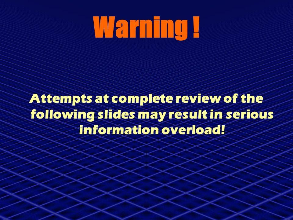 Warning .