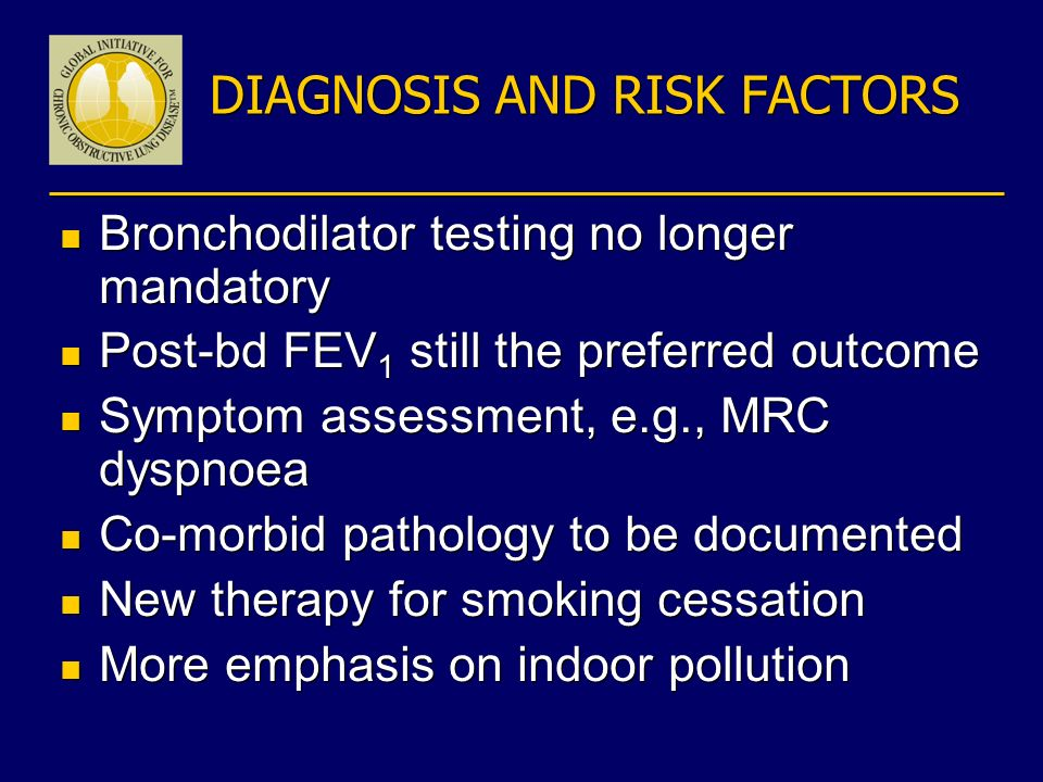 DIAGNOSIS AND RISK FACTORS
