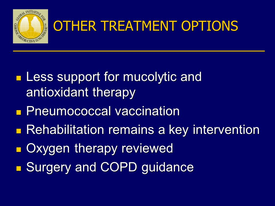OTHER TREATMENT OPTIONS