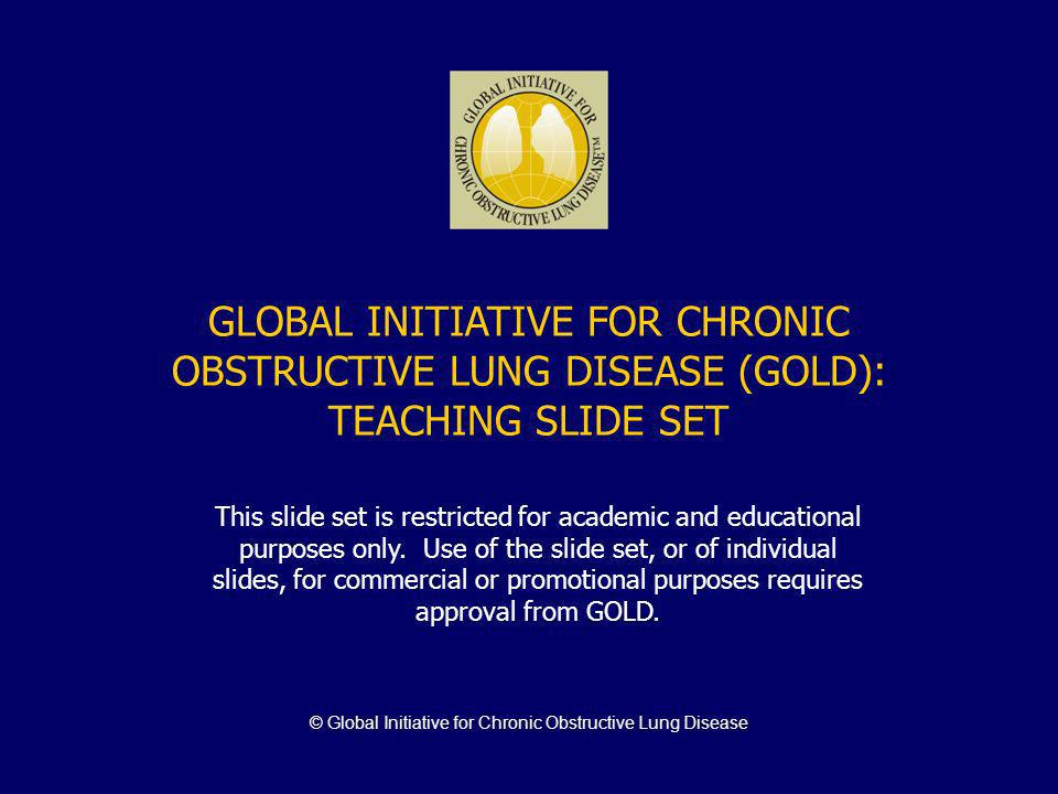 © Global Initiative for Chronic Obstructive Lung Disease