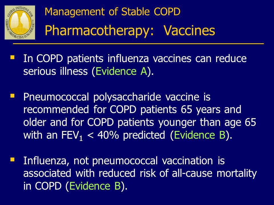 Pharmacotherapy: Vaccines