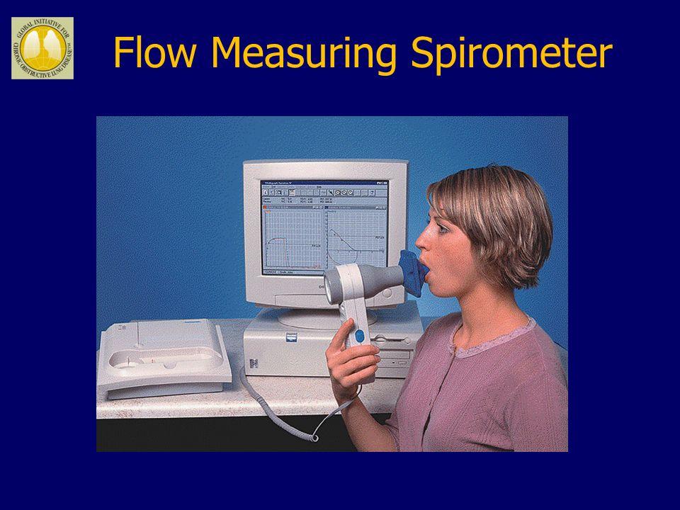 Flow Measuring Spirometer