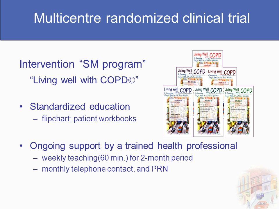 Multicentre randomized clinical trial