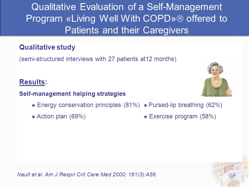 Qualitative Evaluation of a Self-Management Program «Living Well With COPD» offered to Patients and their Caregivers