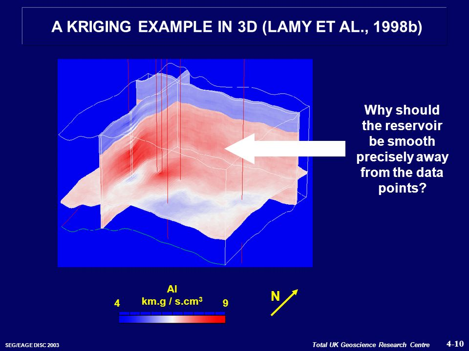 A KRIGING EXAMPLE IN 3D (LAMY ET AL., 1998b)
