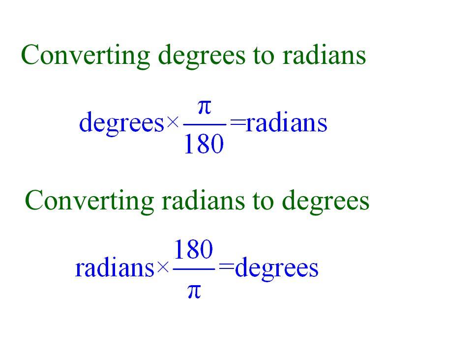 trigonometry radians to degrees pdf