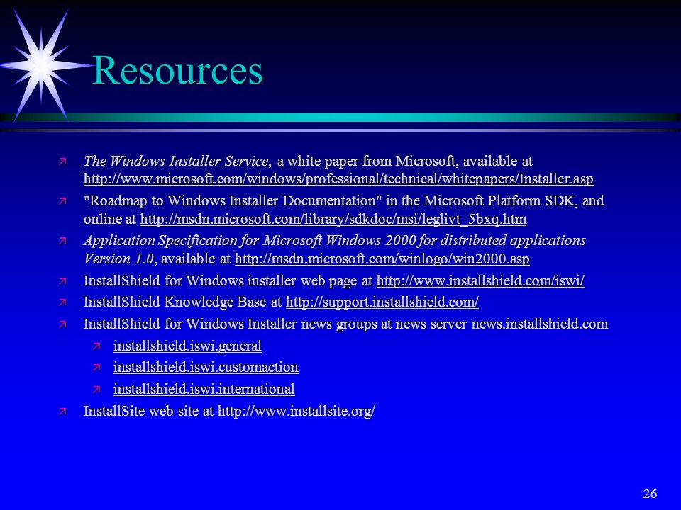 Developing multilingual installation programs using InstallShield for Windows Installer