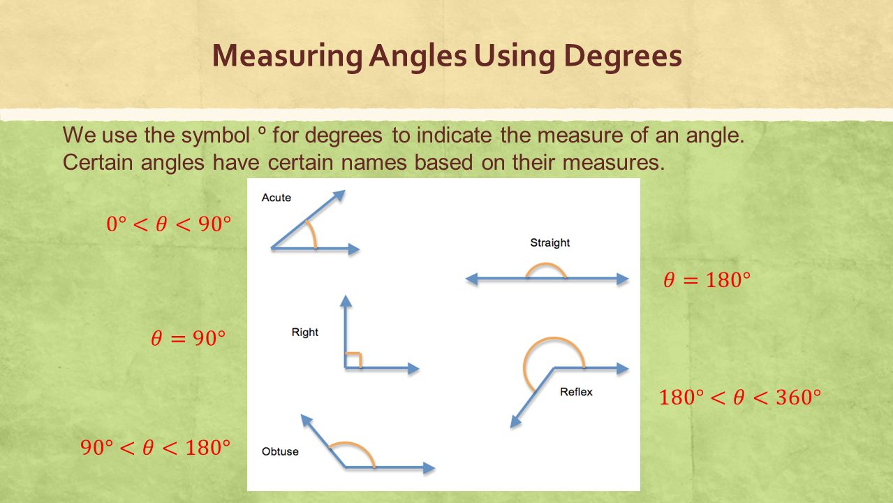 Measure Of An Angle : Trigonometric functions ppt video online download