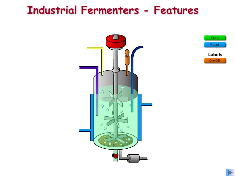 Industrial Fermenters - Features