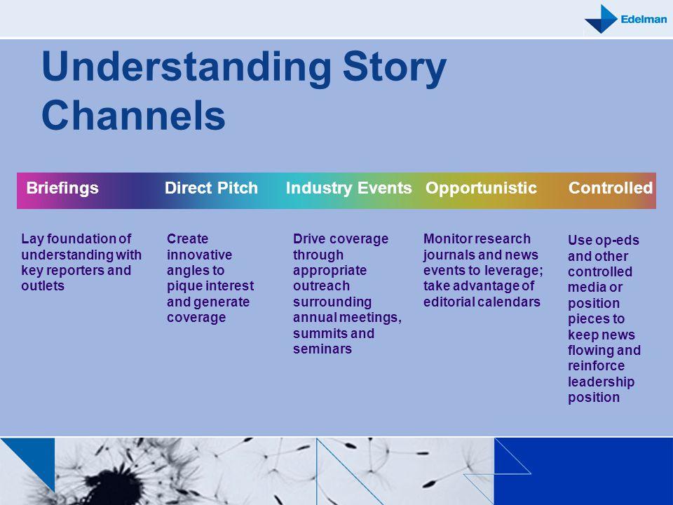 Understanding Story Channels