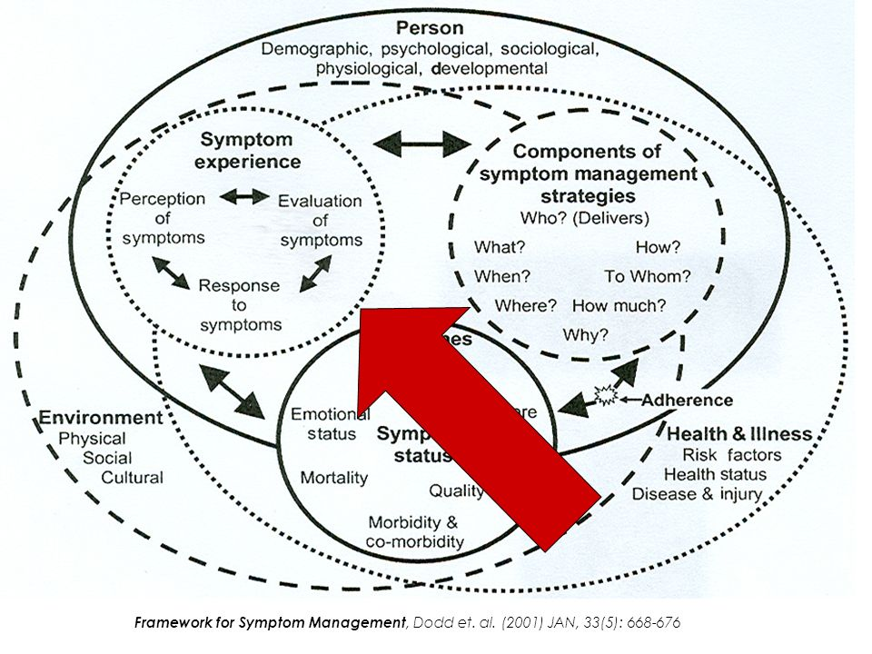 Framework for Symptom Management, Dodd et. al