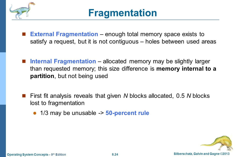 how to avoid internal fragmentation