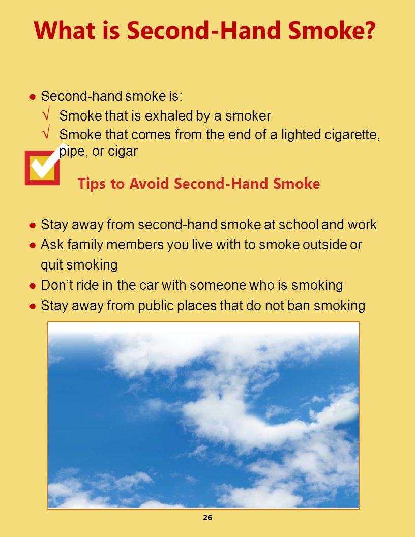 What is Second-Hand Smoke