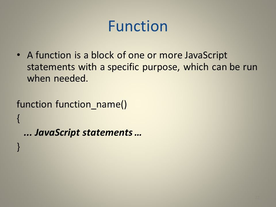 how to call a function javascript