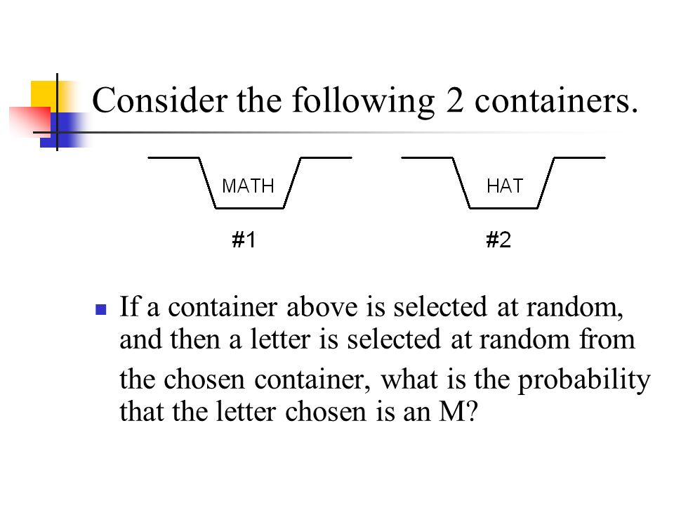 Probability Of Picking A Letter From A Word