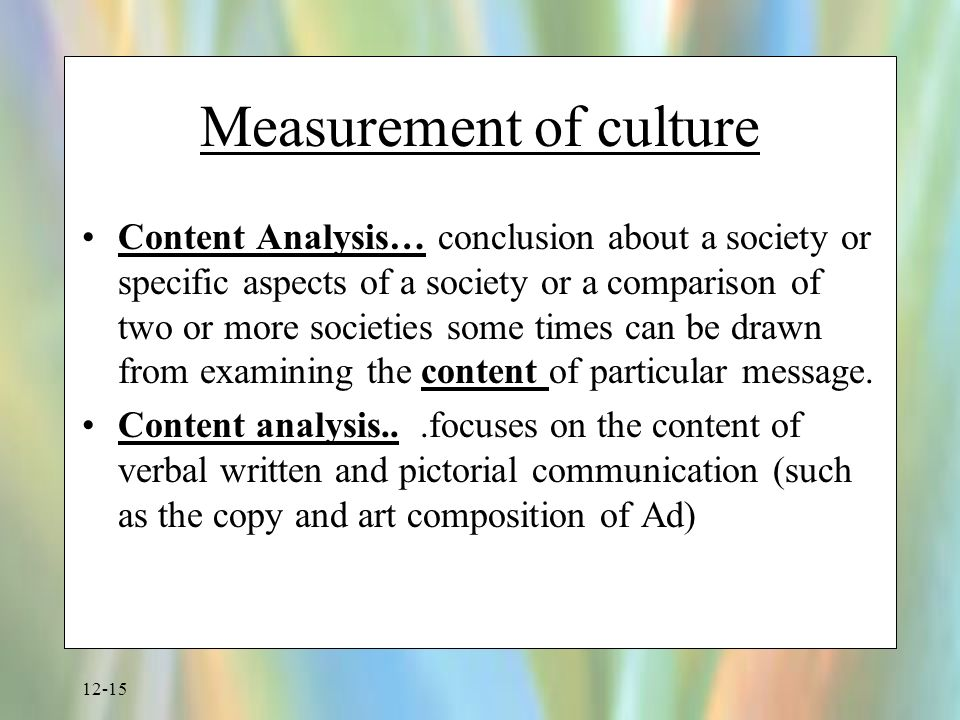 how to measure social culture and Whereas the cultural aspect is an intrinsic factor that drives the organization's  avoid the pitfalls to measure culture:  can culture be measured.